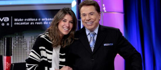 Rebeca e Silvio Santos (Arquivo Blasting News)