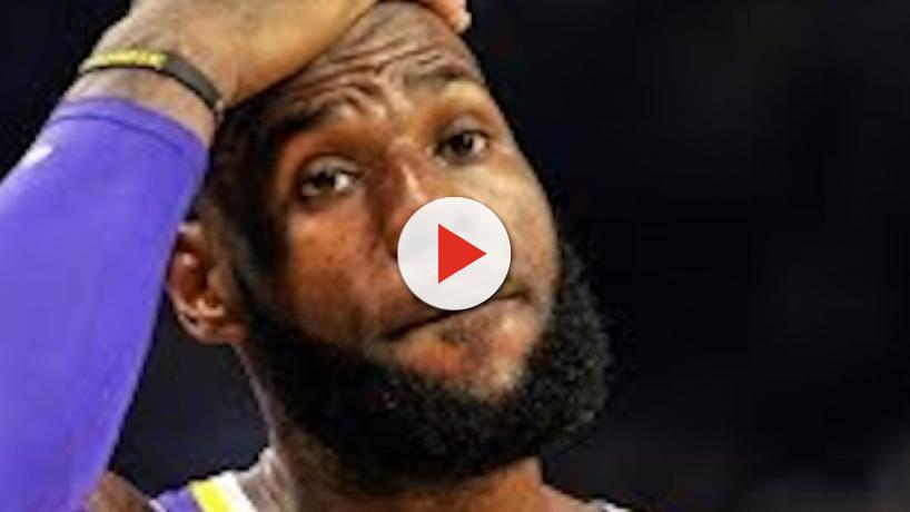 LeBron reacts to being eliminated from NBA playoffs for first time in 14 years