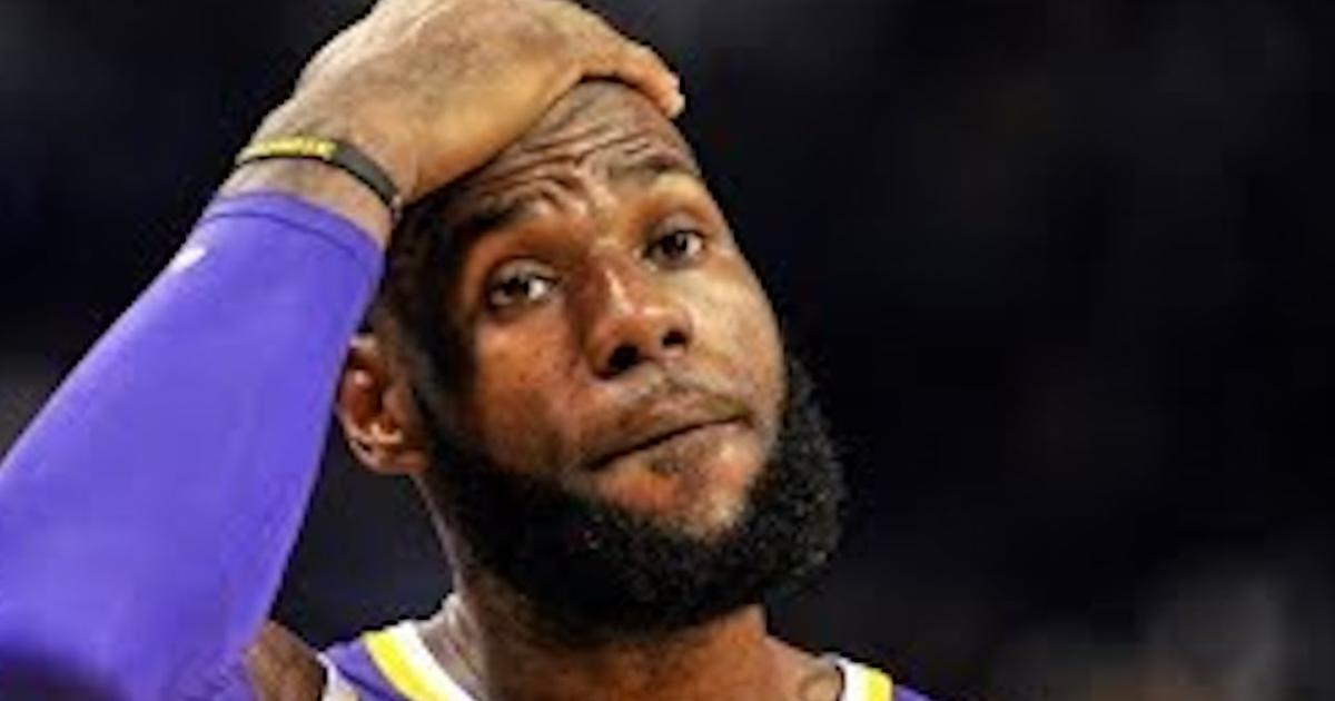 25cee6b2f776 LeBron reacts to being eliminated from NBA playoffs   not what we signed up  for