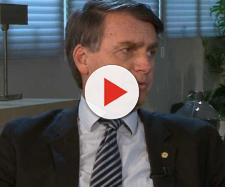 Bolsonaro se incomoda com perguntas na TV do Chile. (Arquivo Blasting News)