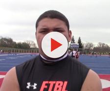 Jamar Sekona will check out the Nebraska football team [Source: Ryan Wright/YouTube]
