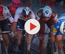 Peter Sagan prova la rimonta nel finale della Milano Sanremo