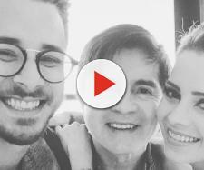 Sandy, Júnior e Xororó (Reprodução/Instagram/@junior_lima)