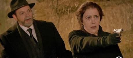 Trame spagnole, Il Segreto: Donna Francisca ritorna con intenzioni bellicose