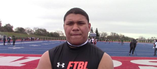 Jamar Sekona will check out the Nebraska football team [Source: Ryan Wright/YouTube]