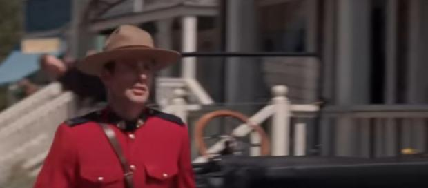 New Mountie Nathan Grant (Kevin McGarry) may have more new faces to look after on When Calls the Heart. [Image source: TVPromos-YouTube]