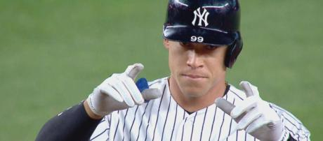 Aaron Judge and the Yankees are ready for the 2019 season. [Image via New York Yankees/YouTube]