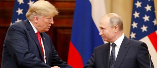 Donald Trump a invité Vladimir Poutine à la Maison-Blanche - parismatch.com
