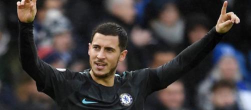 Hazard tiene todos los números para recalar en el Bernabéu. Foto cortesía Marca.com