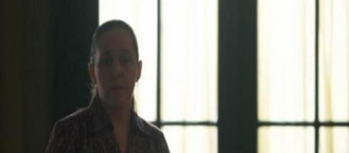 Judith toma a frente na liderança da seita (Reprodução/Rede Globo)