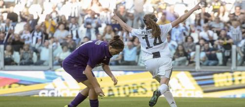La gioia di Pedersen dopo il goal decisivo