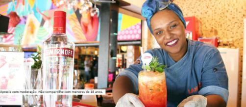O drink 'Flor de Açucena' é um dos finalistas da competição criada por Smirnoff.