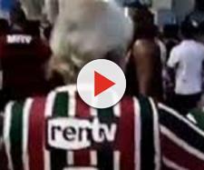 Agressor de torcedor do Fluminense foi detido na última segunda (Foto: Reprodução/Internet)