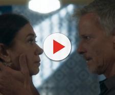 Sampaio e Valentina se aproximam. (Reprodução/Rede Globo)