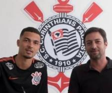 Thiaguinho ficará em definitivo no Corinthians. (Foto: Divulgação/ Corinthians)