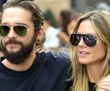 Tom Kaulitz & Heidi Klum mit dickem Verlobungsring.