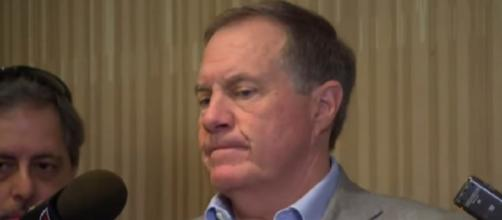 Bill Belichick spoke to the media for 43 minutes. [Source: New England Patriots/YouTube]