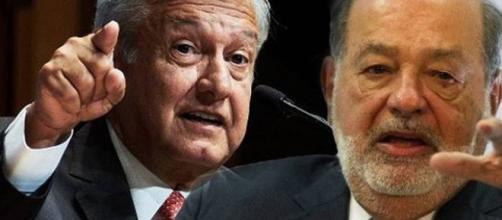 Carlos Slim muestra su respaldo a AMLO.