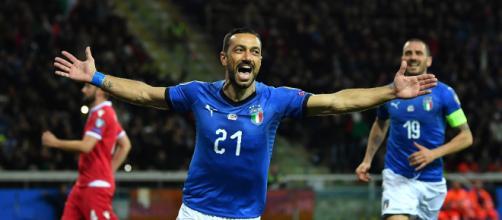 Italia-Liechtenstein 6-0: Quagliarella, doppietta record per il sampdoriano