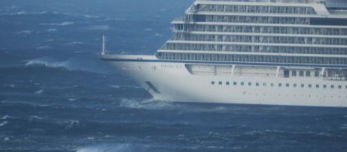 Navio de cruzeiro que ficou à deriva chega a porto na Noruega (Arquivo Blasting News)