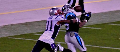Steve Smith played 13 seasons for the Panthers. [Image Source: Flickr   Guy Harbert]