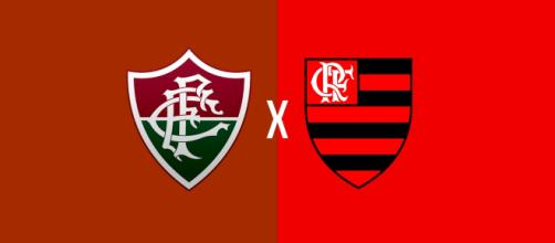 Fluminense x Flamengo ao vivo (Foto: Montagem/ Diogo Marcondes)