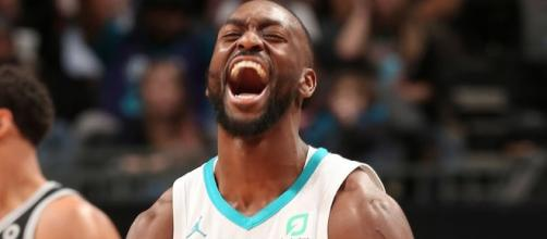 Kemba Walker helped will the Hornets to an overtime win on Tuesday (Mar. 26). [Image via NBA/YouTube]