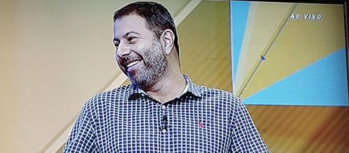 Mário Marra passou apuros nesta quarta (Reprodução/ESPN)