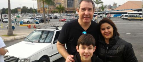 Rafael Henzel deixa esposa e filho (Arquivo pessoal).