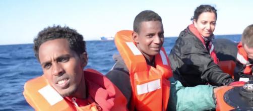 Salvini, Sea Watch nuovo caso Diciotti? (Fonte: Sea-Watch e.V. - Youtube)
