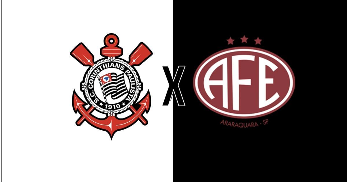 7422db43a Corinthians x Ferroviária: transmissão do jogo ao vivo nesta quarta, às  21h30, na Globo