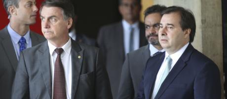 Bolsonaro é criticado por Rodrigo Maia. (Arquivo Blasting News)