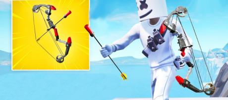 Explosive bow is coming to Fortnite Battle Royale. Image Credit: Fortnite Clips / YouTube