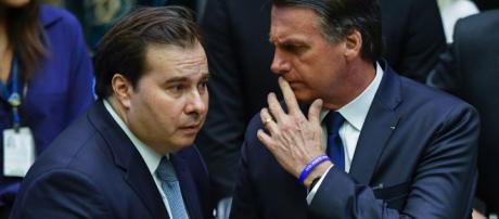 Maia se manifesta depois de falas de Bolsonaro. (Arquivo Blasting News)