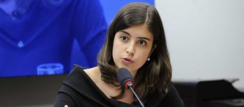 A deputada Tabata Amaral (PDT-SP). (Arquivo Blasting News)