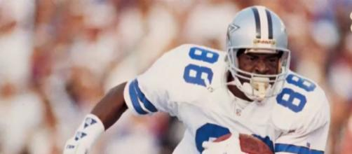 Dallas Cowboys great Michael Irvin asks for prayers after being tested for throat cancer. [Image source/News One YouTube video]