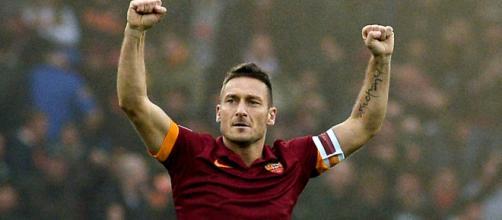 Francesco Totti e il suo amore per la Roma.
