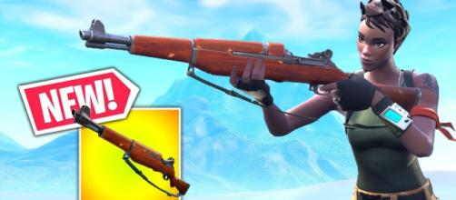 Infantry Rifle has received a huge change. - [Fortnite / YouTube screencap]