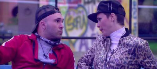 Kiko Rivera y María Jesús Ruiz en 'GH DÚO'. / Telecinco