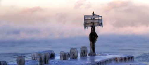 Le fabuleux spectacle qu'offre le dégel du lac Michigan