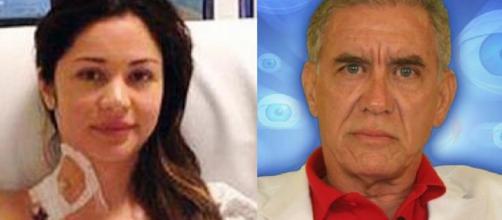 Maria Melilo se recuperou de um câncer e Nonô morreu (Reprodução/Instagram/@mariamelilo/TV Globo)