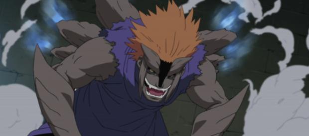 Jūgo aparece en la serie de Boruto