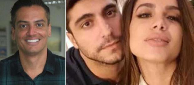 Leo Dias revela detalhes do casamento de Anitta (Montagem Arquivo Blasting News)