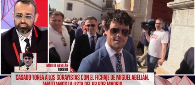 Risto Mejide y Miguel Abellán en imagen