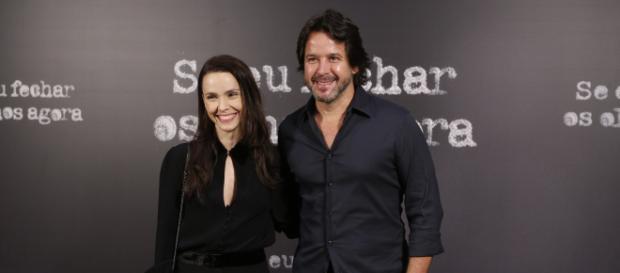 Murilo Benício e Débora Falabella fazem parte do elenco de 'Se Eu Fechar Os Olhos Agora'. (Divulgação/Fabiano Battaglin/Rede Globo)