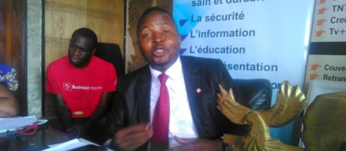 Le président de la LCC Delor Magelan Kamseu Kamgaing © Odile Pahai