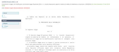 Pensioni anticipate, la quota 100 vede la propria versione definitiva in Gazzetta Ufficiale