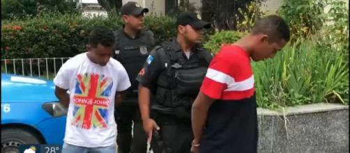 Presos mais dois suspeitos de abuso de menor em Itaguaí. (Reprodução/Rede Globo)