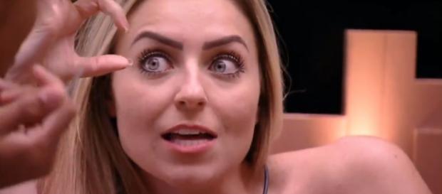 Paula é 'virtual' vencedora do jogo, segundo o UOL. (Reprodução/Rede Globo)