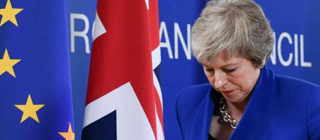 El Parlamento Británico rechaza por tercera vez el proyecto de May